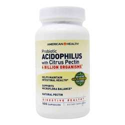 American Health Acidophilus Caps with Citrus Pectin