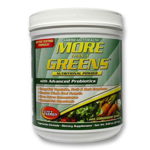 More Than A Greens Powder