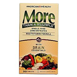 American Health More Than A Multiple with Brain Essentials
