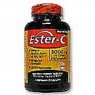 Ester C 1000 mg with Citrus Bioflavonoids 120 VTablets Yeast Free by American Health