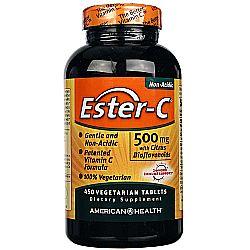 American Health Ester C 500 mg with Citrus Bioflavonoids
