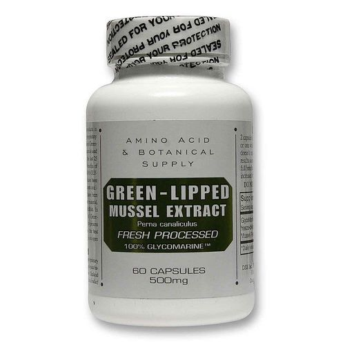 Green Lipped Mussel Extract