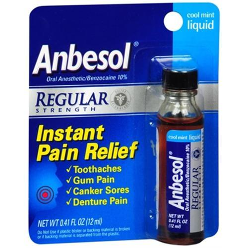 Liquid Oral Pain Relief