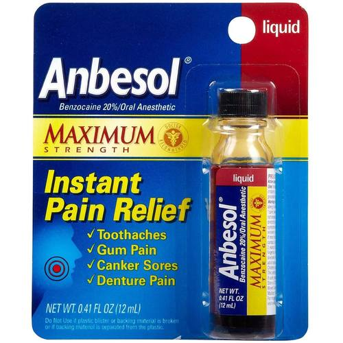 Liquid Instant Oral Pain Relief