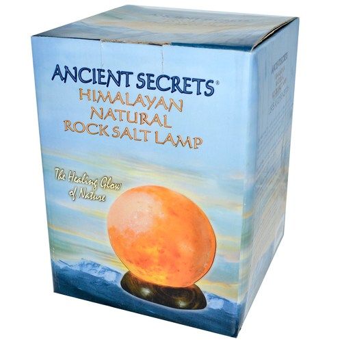 Himalayan Natural Sphere Rock Salt Lamp