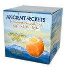 Ancient Secrets Himalayan Natural Rock Salt Tea Light Holder