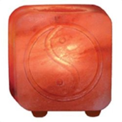 Ancient Secrets Salt Tea Light Holder