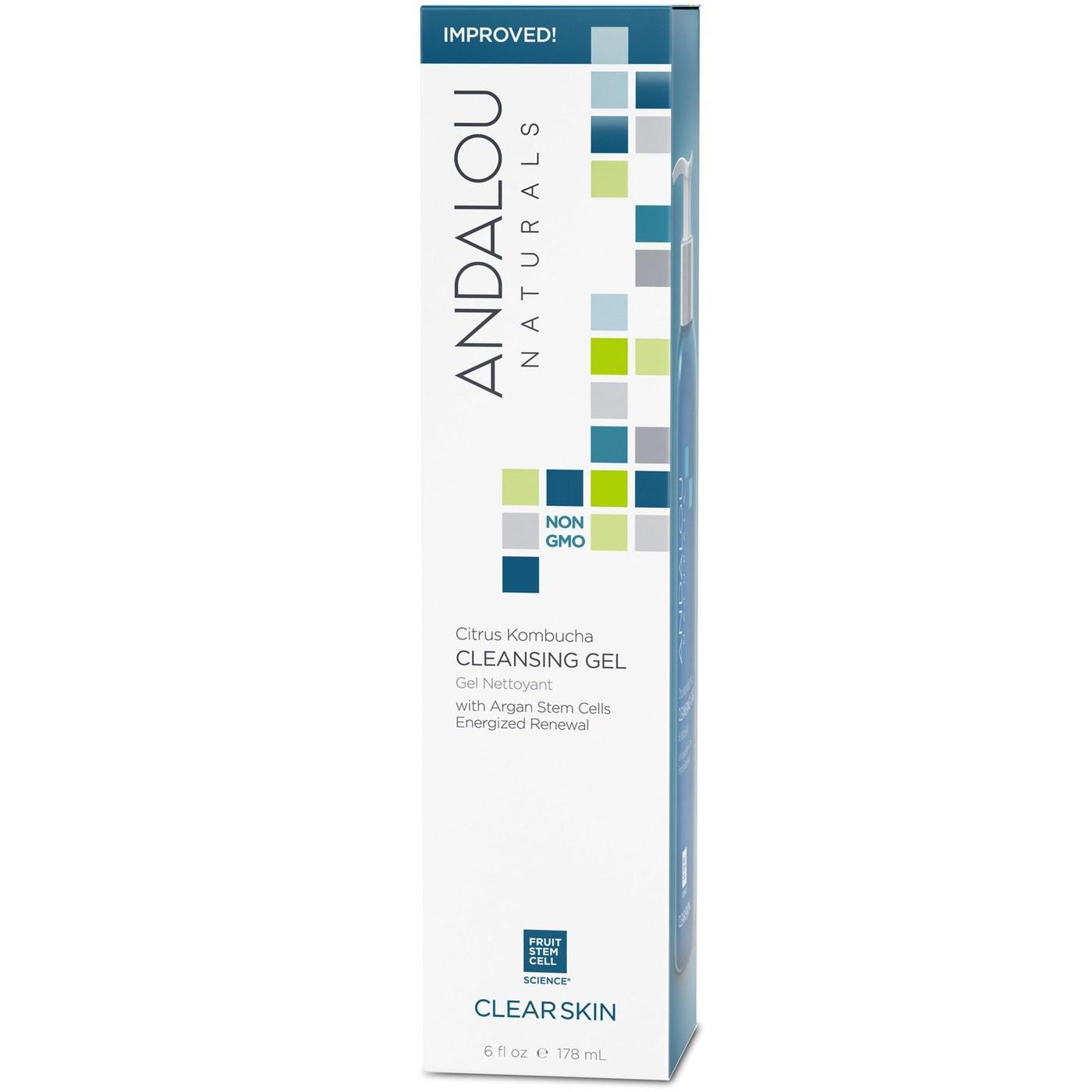 Andalou Naturals Cleansing Gel Clear Skin Citrus