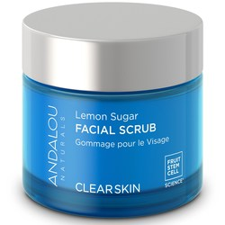 Andalou Naturals Clear Skin Lemon Sugar Facial Scrub