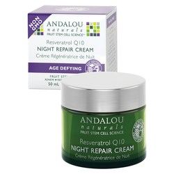 Andalou Naturals Age Defying Resveratrol Q10 Night Repair Cream