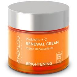 Andalou Naturals Brightening Probiotic + C Renewal Cream
