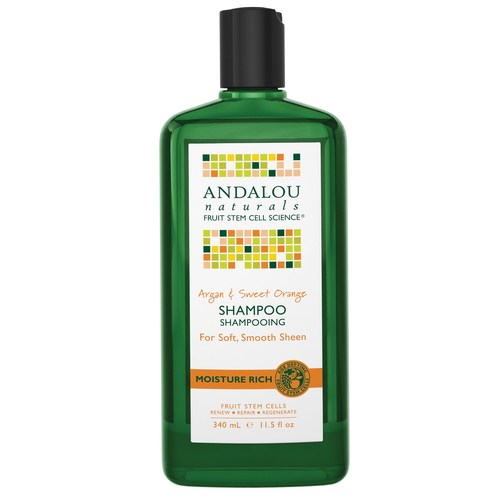 Moisture Rich Argan and Sweet Orange Shampoo
