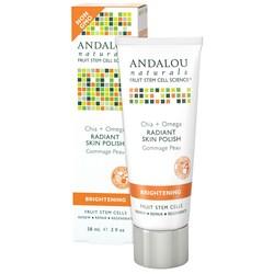 Andalou Naturals Brightening Chia + Omega Radiant Skin Polish