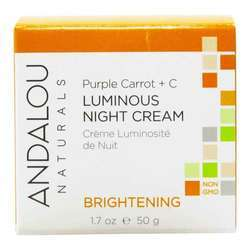 Andalou Naturals Luminous Night Cream