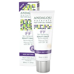Andalou Naturals Age Defying BB Skin Perfecting Beauty Balm Natural Tint SPF 30