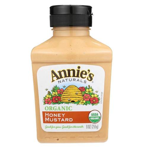 Annies Homegrown Organic Mustard Honey - 9 fl oz - 57561_front.jpg