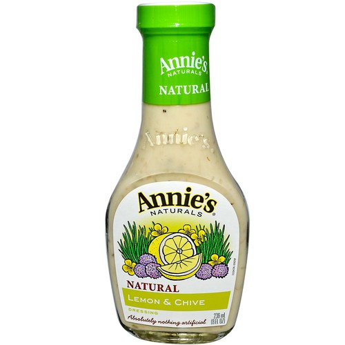 Natural Lemon and Chive Dressing