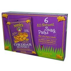 Annies Homegrown Cheddar Bunnies Crackers