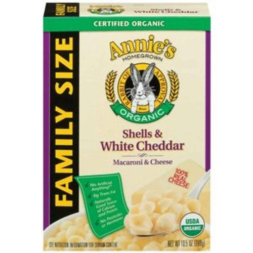 Organic Shells and White Cheddar