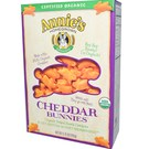 Annies Homegrown Organic Cheddar Bunnies Crackers