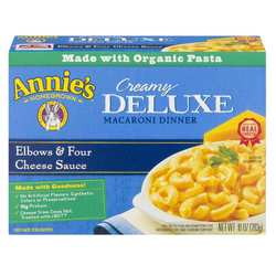 Annies Homegrown Deluxe Macaroni  Cheese Dinner