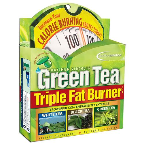 Applied Nutrition Green Tea Triple Fat Burner - 30 liquid softgels - 278287_01.jpg