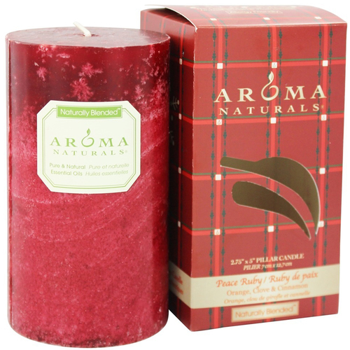 Holiday Naturally Blended Pillar Eco-Candle