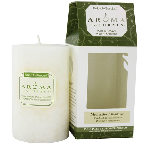 Meditation Naturally Blended Pillar Eco-Candle
