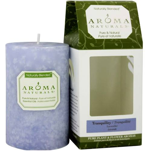 Tranquility Naturally Blended Pillar Eco-Candle