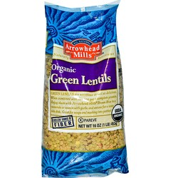 Arrowhead Mills Green Lentils
