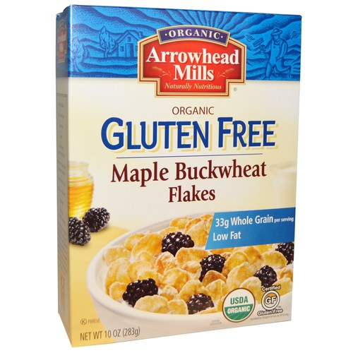 Organic Gluten Free Maple Buckwheat Flakes (12 Pack)