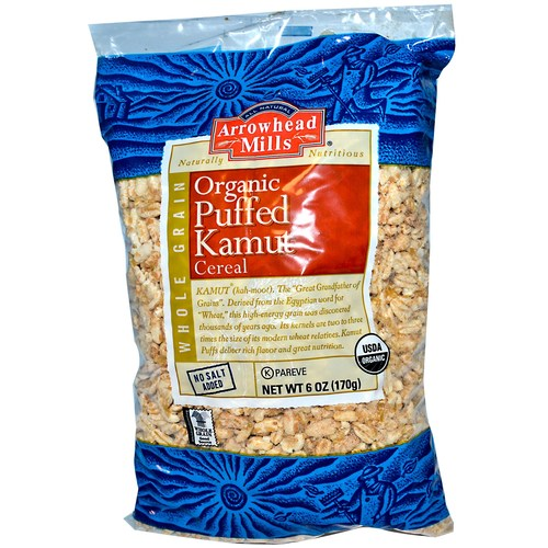 Puffed Kamut Cereal