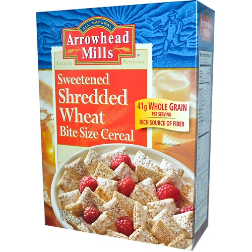 Sweetened Shredded Wheat