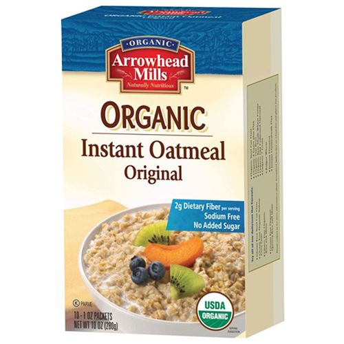 Organic Instant Oatmeal