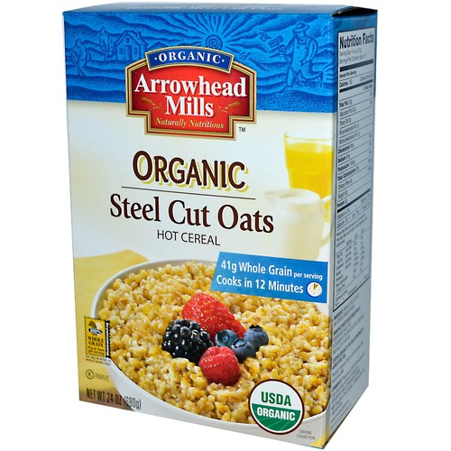 Organic Steel Cut Oats Hot Cereal