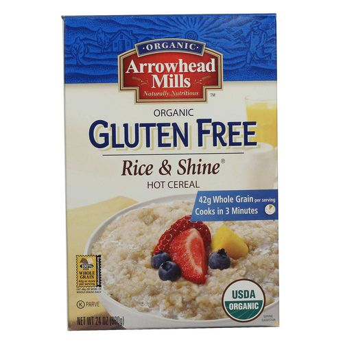 Organic Gluten Free Rice and Shine Hot Cereal