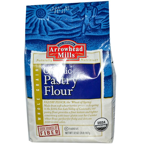 Organic Pastry Flour (12 Pack)
