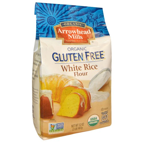 Organic White Rice Flour (6 Pack)