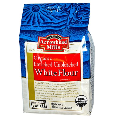 Organic Enriched Unbleached White Flour (12 Pack)