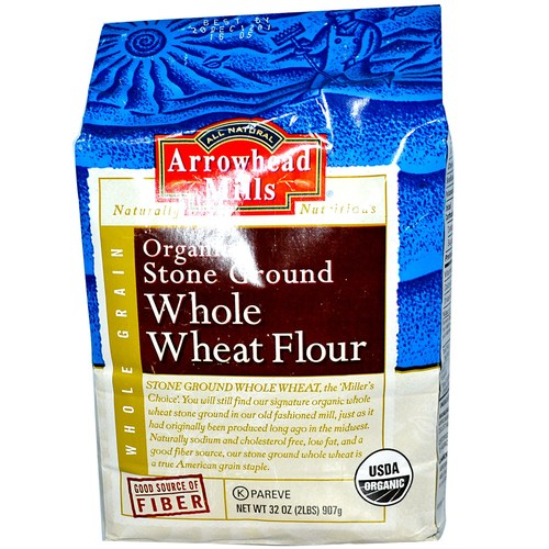 Organic Stone Ground Whole Wheat Flour