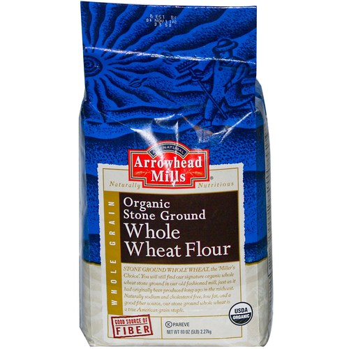 Organic Stone Ground Whole Wheat Flour (6 Pack)