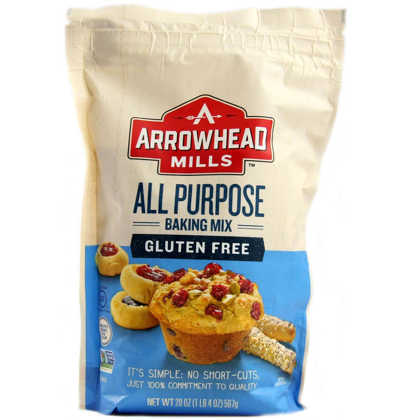 Arrowhead Mills All Purpose Baking Mix, Gluten Free - 20 ...