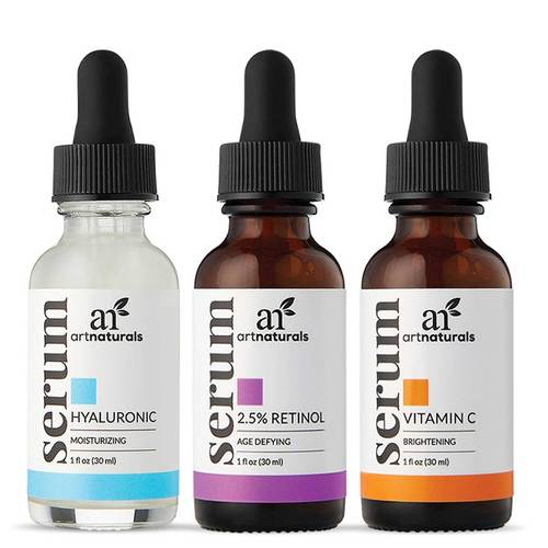 Art Naturals Anti-Aging Serum Trio Set  - 3 - 1 fl oz - 348143_front.jpg