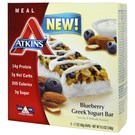 Atkins Advantage Meal Bar - Blueberry Greek Yogurt  - 5 Pack