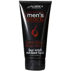 Aubrey Organics Men's Stock Face Scrub
