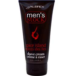 Aubrey Organics Men's Stock Shave Cream