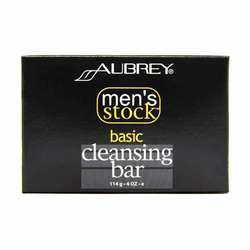 Aubrey Organics Men's Stock Cleansing Bar