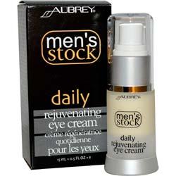Aubrey Organics Men's Stock Daily Rejuvenating Eye Cream