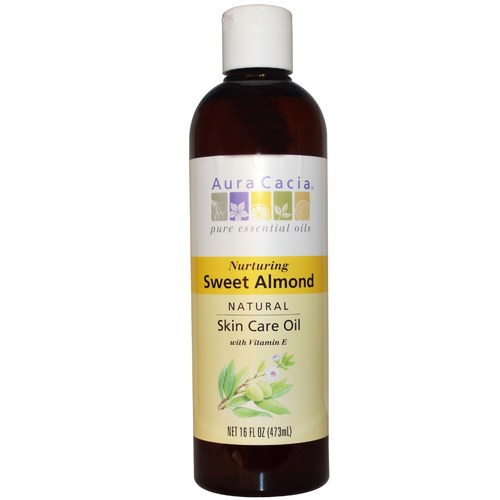 Nurturing Sweet Almond Skin Care Oil