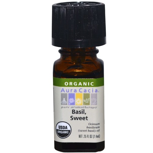 Organic Sweet Basil Essential Oil